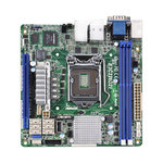 Carte mère Mini ITX Socket 1150 Intel C226 Aspeed AST2300 - 6x SATA 6Gb/s - 1x PCI Express 3.0 16x - 2 x Gigabit LAN