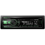 Autoradio CD/MP3 compatible iPod/iPhone et Android, Bluetooth, USB et entrée auxiliaire