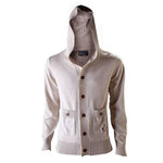 """Abystyle Gilet à capuche avec boutons """"Assassin's Creed IV : Black Flag"""" Taille S"""