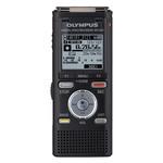 Dictaphone avec microphones stéréo intégré - USB - 8 Go et lecteur de carte micro SD