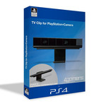 Support réglable de caméra PlayStation Eye sous licence officielle PlayStation 4