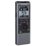 Dictaphone avec microphones à faible bruit et support de table - USB - 2 Go