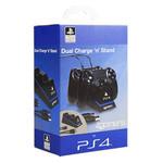 Station de recharge sous licence officielle PlayStation 4 pour deux manettes
