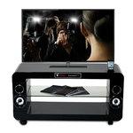 Meuble Home Cinéma 2.1 avec Station d'accueil iPod/iPhone - Bonne affaire (article jamais utilisé, garantie 2 mois)