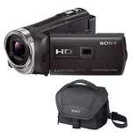 Caméscope Full HD Mémoire flash avec projecteur intégré