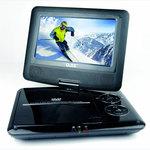 """Lecteur DVD/DivX 7"""" Portable avec port USB - Bonne affaire (article utilisé, garantie 2 mois)"""