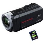 Caméscope Full HD tout terrain écran LCD tactile carte mémoire + Carte SD 8 Go