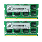 Kit Dual Channel RAM SO-DIMM PC3-10600 - F3-1333C9D-8GSA