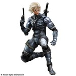 Play Arts Kai Figurine Metal Gear Solid 2 : Sons of Liberty - Raiden - Figurine 28 cm