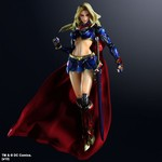 Play Arts Kai Figurine DC Comics Variant - Supergirl V3 - Figurine 25,5 cm