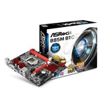 Carte mère Micro ATX Socket 1150 Intel B85 Express - SATA 3Gb/s et SATA 6Gb/s - USB 3.0 - 1x PCI-Express 3.0 16x