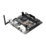 Carte mère Mini ITX avec processeur APU AMD A4-5000 AMD Radeon HD8330 -SATA 6 Gb/s - USB 3.0 -  PCI-Express 2.0 16x - Wi-Fi N