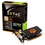 1024 Mo DVI/HDMI - PCI Express (NVIDIA GeForce avec CUDA GTX 750)