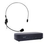 Microphone serre-tête UHF avec récepteur