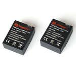 Pack de 2 batteries pour GoPro HERO 3 et 3+