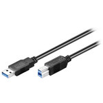 Câble USB 3.0 Type AB (Mâle/Mâle) - 5 m