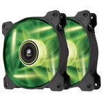 Paire de ventilateurs de boîtier 140 mm avec LEDs vertes