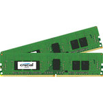 Kit Dual Channel RAM DDR4 PC4-17000 - CT2K4G4RFS8213 (garantie 10 ans par Crucial)