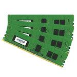 Kit Quad Channel RAM DDR4 PC4-17000 - CT4K4G4RFS8213 (garantie 10 ans par Crucial)