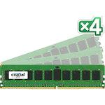 Kit Quad Channel RAM DDR4 PC4-17000 - CT4K8G4RFS4213 (garantie 10 ans par Crucial)