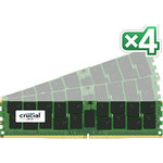 Kit Quad Channel RAM DDR4 PC4-17000 - CT4K16G4RFD4213 (garantie 10 ans par Crucial)
