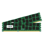 Kit Dual Channel RAM DDR3 PC14900 - CT2K16G3ERSDD4186D (garantie à vie par Crucial)