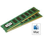Kit Dual Channel RAM DDR3 ECC PC14900 - CT2C8G3W186DM (garantie à vie par Crucial)