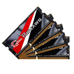 Kit Quad Channel RAM SO-DIMM PC3-14900 - F3-1866C11Q-32GRSL (garantie à vie par G.Skill)
