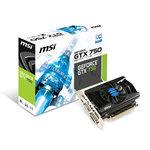 2048 Mo DVI/HDMI - PCI Express (NVIDIA GeForce avec CUDA GTX 750)