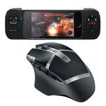 Souris laser sans fil à 11 boutons pour gamer + Contrôleur de jeu pour iPhone 5 avec batterie