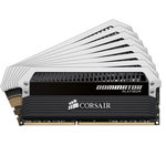 Kit Quad Channel RAM DDR3 PC3-19200 - CMD64GX3M8A2400C11 (garantie à vie par Corsair)