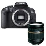 """Reflex Numérique 18 MP - Ecran tactile 3"""" - Vidéo Full HD + Zoom monture Canon"""