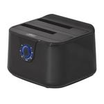 """Station d'accueil pour disques durs SATA 2.5"""" et 3.5"""" sur port USB 3.0 (Noir)"""
