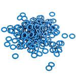 Lot de 125 joints toriques bleus en caoutchouc pour clavier mécanique à switches Cherry MX