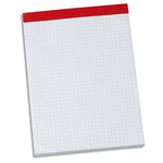 Oxford Bloc notes sans couverture 200 pages 210 x 297 mm petits carreaux