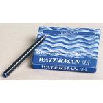 Waterman étui de 8 cartouches longues effaçables bleues