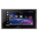 """Autoradio MP3 avec écran tactile 6.2"""", contrôle iPod/iPhone, Android, CarPlay, USB, HDMI, Bluetooth, entrée auxiliaire, AppRadio et MirrorLink"""