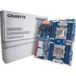 Carte mère E-ATX 2x Socket 2011-3* Intel C612 - SAS - SATA 6Gb/s - 3x PCI Express 3.0 16x - 3x Gigabit LAN