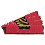 Kit Quad Channel 4 barrettes de RAM DDR4 PC4-21300 - CMK16GX4M4A2666C16R (garantie à vie par Corsair)