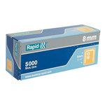 Rapid agrafes 13/8 boite de 5000 agrafes