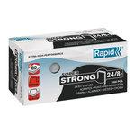 Rapid agrafes 24/8+ boite de 5000 agrafes SuperStrong