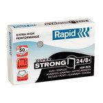 Rapid agrafes 24/8+ boite de 1000 agrafes SuperStrong