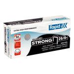 Rapid agrafes 26/8+ boite de 5000 agrafes SuperStrong