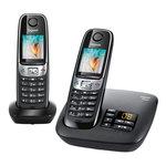 Téléphone DECT sans fil avec répondeur et combiné supplémentaire (version française) - Bonne affaire (article utilisé, garantie 2 mois