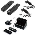 Kit de démarrage avec 2 ii Motion Controller, 2 ii Chuck et 1 Charge Station (compatible Wii et Wii U)