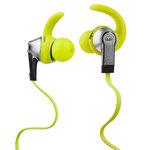 Écouteurs intra-auriculaires sportifs avec télécommande et micro