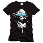T-Shirt Star Wars Yoda Noir taille L