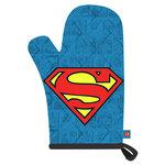 Gant de cuisine coton/polyester avec logo et imprimés Superman