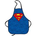 Tablier en coton avec logo et imprimés Superman