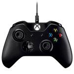 Manette de jeu sans fil pour console Xbox One + câble adaptateur pour Windows